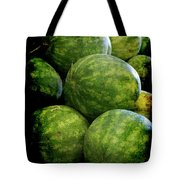 Renaissance Green Watermelon Tote Bag