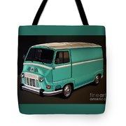 Renault Estafette 1959 Painting Tote Bag