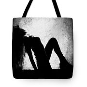Renew And  Repeat Bw Tote Bag