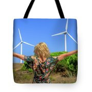 Renewable Energy Concept Tote Bag