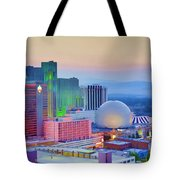 Reno At Sunset Tote Bag