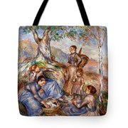 Renoir: Grape Pickers Tote Bag