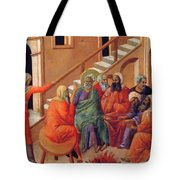Renunciation Of Peter 1311 Tote Bag