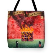 Repent For The End Times Are Near Tote Bag