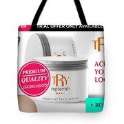 Replenish Cream Tote Bag