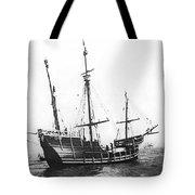 Replica Of Columbus's Nina Tote Bag