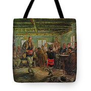 replica of Ruchenitsa by Nikola Tanev Tote Bag