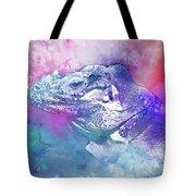 Reptile Profile Tote Bag