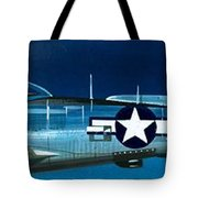 Republic P-47n Thunderbolt Tote Bag