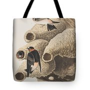 Republican Or Cliff Swallow Tote Bag