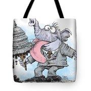 Republicans Lick Congress Tote Bag
