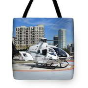 Rescue Helocopter Tote Bag