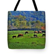 Rescue Horses Tote Bag