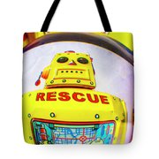 Rescue Yellow Bot Tote Bag