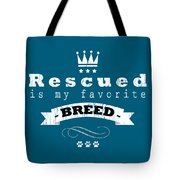 Rescued Crown Light Tote Bag