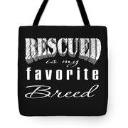 Rescued Pencil Tote Bag