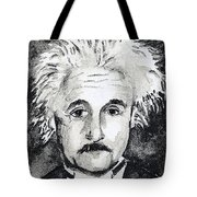 Resemblance To Einstein Tote Bag