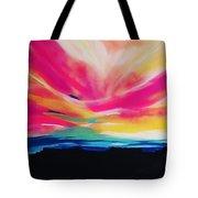 Reservation Sunset Tote Bag
