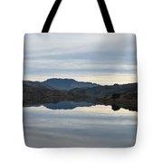 Reservoir Reflection Tote Bag