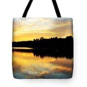 Reservoir Sunset 1 Tote Bag