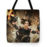 Resident Evil Afterlife Tote Bag
