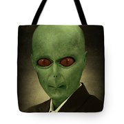 Resident Professor Of Interplanetary Research Area 51 Tote Bag