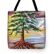 Resilient Cypress Tote Bag