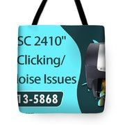 Resolve Hp Psc 2410 Scanner Clicking Grinding Noise Issues Tote Bag