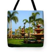 Resort Fountains Tote Bag