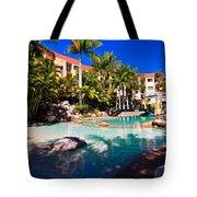 Resort Pool Tote Bag