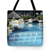 Resort With Swimming Pool Tote Bag