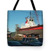 Response In Anacortes Drydock Tote Bag