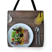restourant food in Thailand Tote Bag