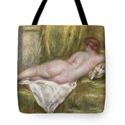 Rest After The Bath Tote Bag by Pierre Auguste Renoir