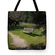 Rest Along The Path Tote Bag