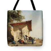 Rest By The Oasis Tote Bag