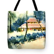 Rest House Tote Bag