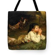 Rest In The Henhouse Tote Bag