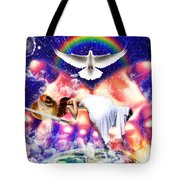 Rest In The Lord Tote Bag