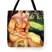 Rest Under A Tree Tote Bag