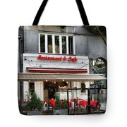 Restaurant And Cafe Tote Bag