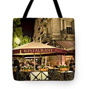 Restaurant In Budapest Tote Bag by Madeline Ellis