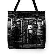 Restaurant Jeanne D'arc Bw Tote Bag