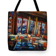 Restaurant On Columbus Tote Bag