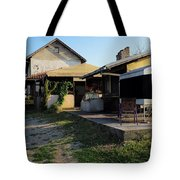 Restaurant On The Outskirts  Tote Bag