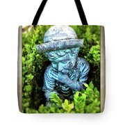 Restful Moment In The Garden Tote Bag