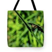 Resting Alert Dragonfly Tote Bag