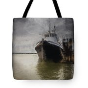 Resting At The Dock Tote Bag