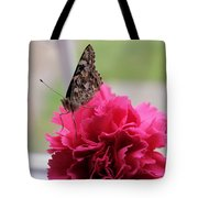 Resting Butterfly Tote Bag by Myrna Migala