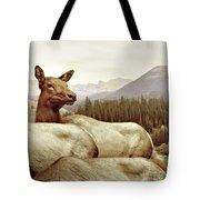 Resting Deer Tote Bag